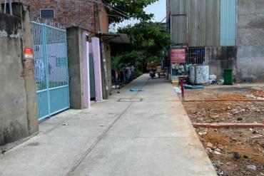 Bán đất Hẻm 258 Hồ Học Lãm, P. An Lạc, 4 x 23m, giá 3.8 tỷ.