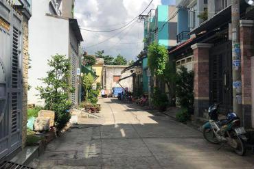 Bán đất Hẻm 704 Hương lộ 2, P. Bình Trị Đông A, 5 x 17m, giá 4.95 tỷ.