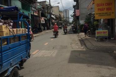 Bán nhà Hẻm E2 Nguyễn Hữu Trí, Tân Túc, Bình Chánh, 12 x 28.3m, 2 Tấm, 9.8 Tỷ