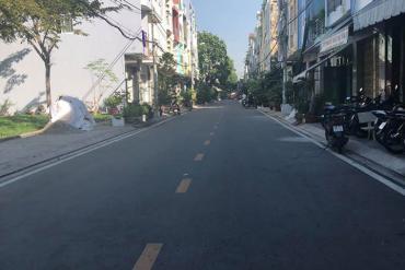 Bán nhà MT đường Số 60, P.10, Q.6, nhà 3.5 tấm, 4 x 18m, giá 9 tỷ. khu Bình Phú