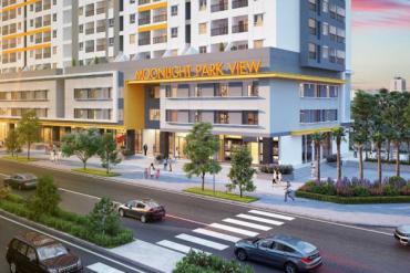 Cho thuê căn góc Shop House chung cư MoonLight, MT đường Số 7, 7 x 9m, 1 lững, 48 triệu/tháng.