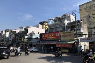 Bán nhà MT đường Minh Phụng, P.2, Q.11, Nhà 1 Lầu, 2.8 x 7.5m, Giá 4.5 Tỷ
