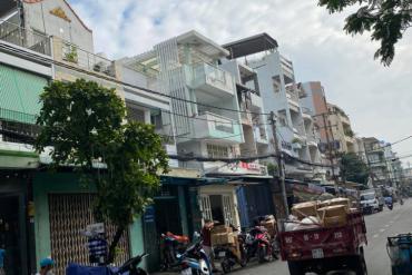 Bán nhà MT đường Nguyễn Chí Thanh, P.16, Q.11, nhà mới 3.5 tấm, 4 x 25m, NH 4.9m, 17.3 tỷ